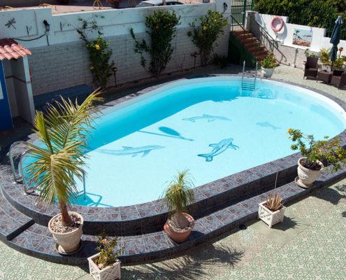 Erneuerung Sonnenterrasse Pool